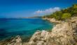 Greece coast panorama