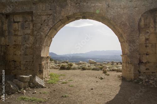 Foto op Plexiglas Toscane Antik Roma Mimarisi