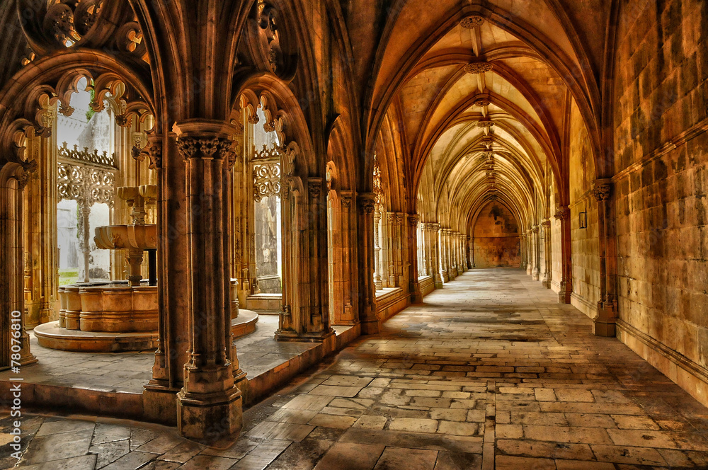 Fototapety, obrazy: historical monastery of Batalha in Portugal