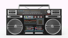 Boombox Front  View