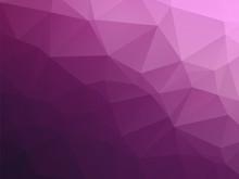 Abstract Triangular Dark Violet Purple Background