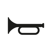 The Horn Icon. Clarion Symbol....