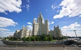 Wieżowce w Moskwie
