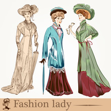 Collection Of Vector Fashion L...