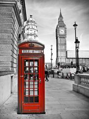 Obraz na Plexi Czarno-Biały London impression