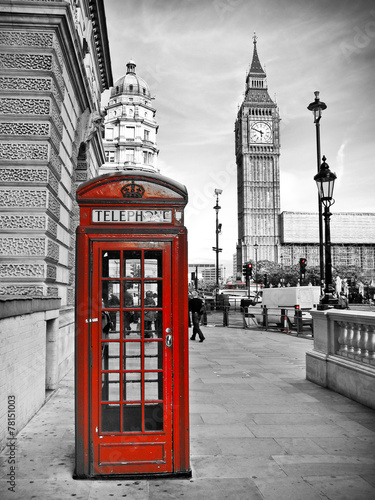 Foto op Canvas Londen London impression