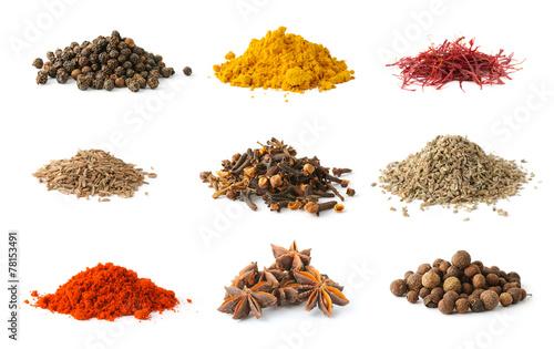 Fotografie, Obraz  Set of spices 5