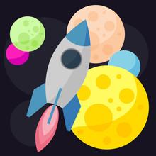 Bright Colored Vector Space Ba...
