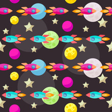 Bright Colored Vector Space Pa...