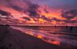 Coogee beach at sunset
