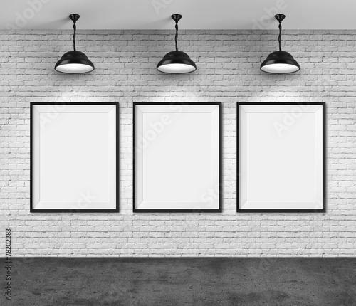 Obraz na płótnie Art gallery
