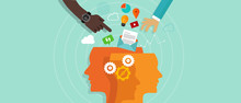 Communication Concept. Head Gear Information