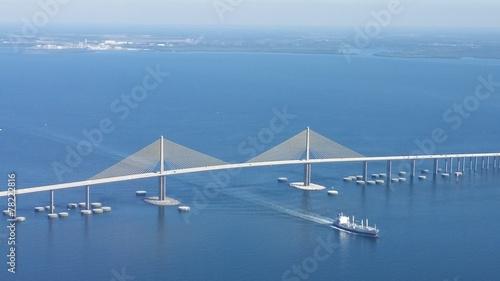 Valokuva  Sunshine Skyway Bridge