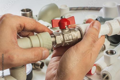 Fotografia  Plumbing fixtures