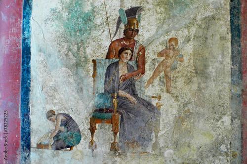 Stampa su Tela pompeii art