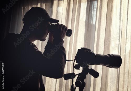 Cuadros en Lienzo  spy at work