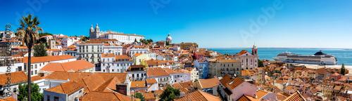 Fototapeta  Panorama of Lisbon