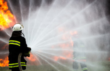 Firefighters Extinguish The Fi...
