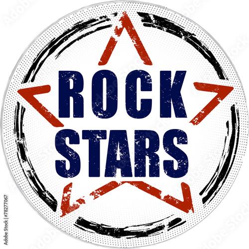 Valokuva  Rock stars grunge design.
