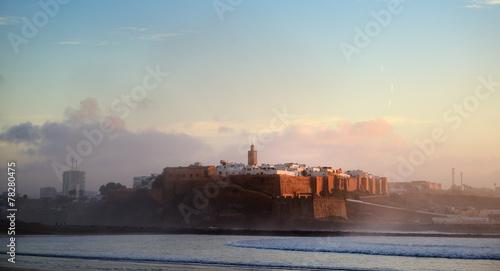 Staande foto Marokko Morocco. The Kasbah of the Oudaya in Rabat