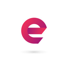Letter E Logo Icon Design Temp...