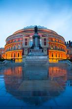 The Royal Albert Hall, Opera Theater, In London, England, UK..