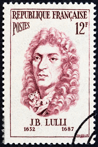 Jean-Baptiste Lully (France 1956) Canvas Print
