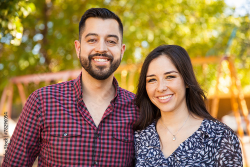 Photographie  Portrait of a happy young couple