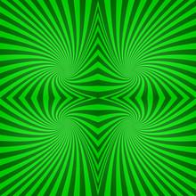 Green Seamless Spiral Pattern