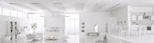 Interior Of Modern White Apart...
