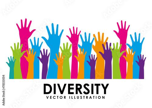 diversity design Fotobehang