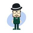 little sprite hipster guy