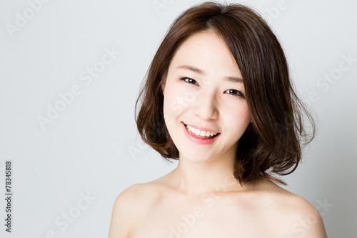 Fotografie, Obraz  attractive asian woman beauty image