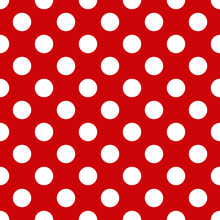 Seamless Polka Dot Pattern For...
