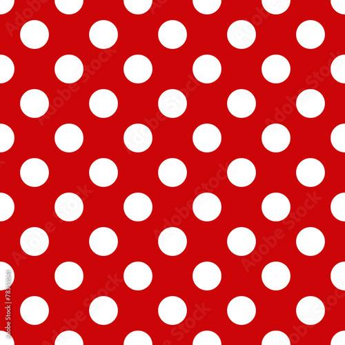 biale-kropki-na-czerwonym-tle