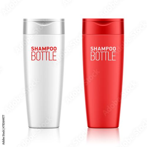 Fotografie, Obraz  Shampoo bottle template for your design