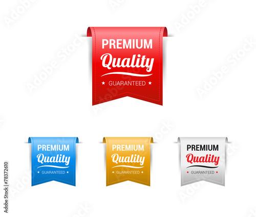 Premium Quality Labels Fototapeta