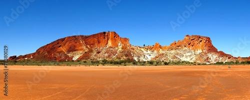 In de dag Australië Rainbow Valley, Northern Territory, Australia