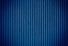 Navy Blue Corrugated Sheet Metal