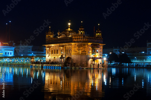 Fototapeta  Golden Temple at night. Amritsar. India