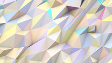 Pastel Abstract Triangles Poly...
