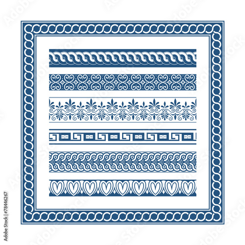 The Frames of ancient Greek style - Buy this stock vector and ...