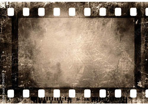 35 mm film strip Fototapet