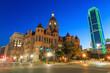Dallas, Texas cityscape at twilight