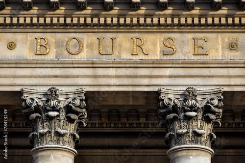 Pinturas sobre lienzo  Paris stock exchange