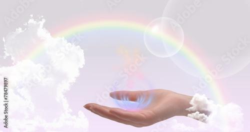 Photo  Healing hands website header
