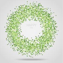 Green Square Confetti