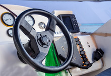 Speedboat Steering Wheel