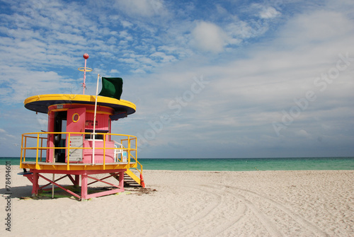 Miami Beach Swimmers Lifeguard Station
