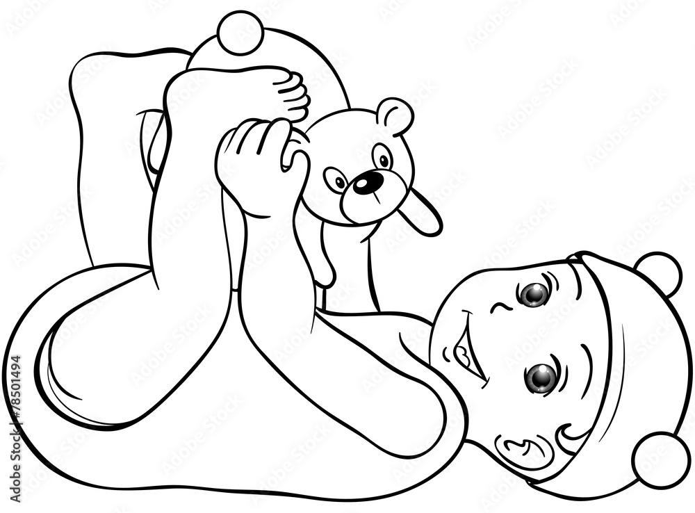 ausmalbild baby born  kinder ausmalbilder
